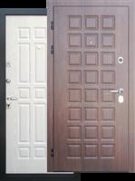 Металлические двери с МДФ