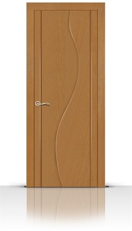 Межкомнатная дверь Корунд (Анегри светлый, Шпон)