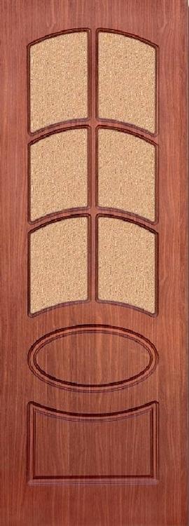 Двери ПВХ ламинированные Неаполь