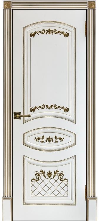 Окрашенные двери Алина-2