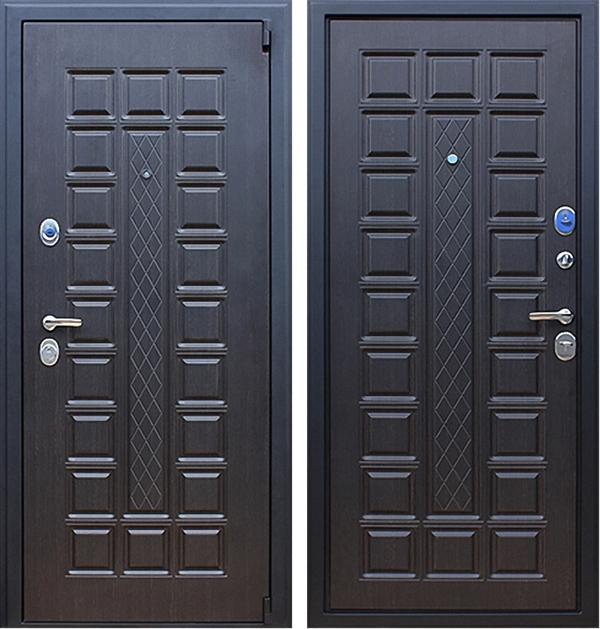 Входная металлическая дверь АСД Консул (Венге / Венге)