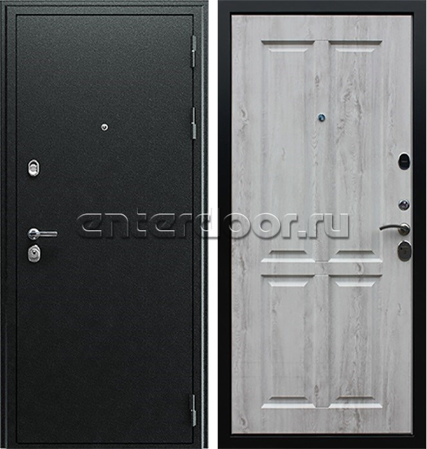 Входная металлическая дверь АСД Прометей 3D (Сосна белая 50977-94)