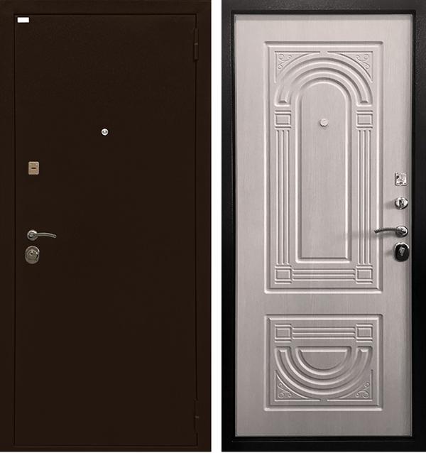 Входная металлическая дверь Ратибор Оптима 3К (Экодуб)