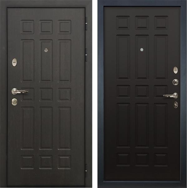Входная металлическая дверь Лекс 8 Сенатор ФЛ-33 (Венге / Венге)