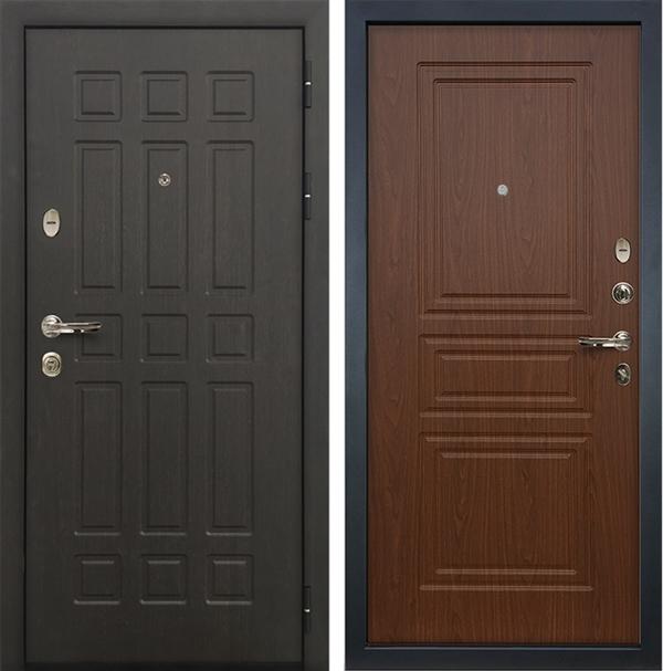 Входная металлическая дверь Лекс 8 Сенатор Верона (Береза мореная)