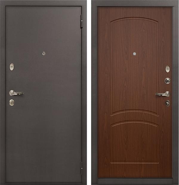 Входная стальная дверь Лекс 1А (№11 Береза мореная)