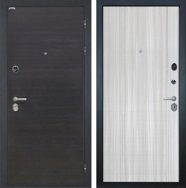 Входная металлическая дверь Интекрон Сицилия L-5 (ЭкоВенге / Сандал белый)