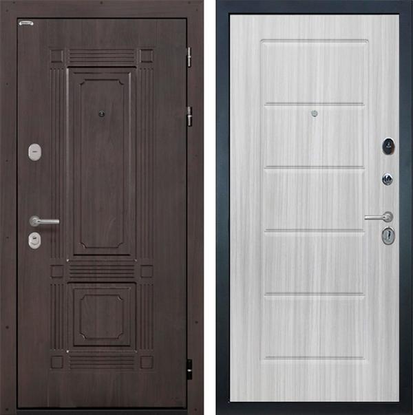 Входная металлическая дверь Интекрон Италия ФЛ-39 (Венге / Сандал белый)