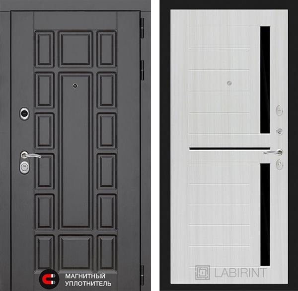 Входная металлическая дверь Лабиринт Нью-Йорк 2 (Сандал белый)