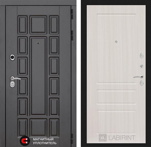 Входная металлическая дверь Лабиринт Нью-Йорк 3 (Сандал белый)