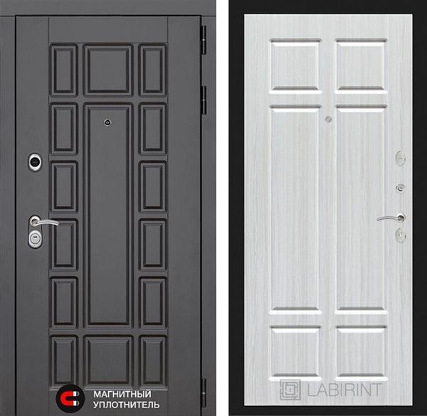 Входная металлическая дверь Лабиринт Нью-Йорк 8 (Кристалл вуд)