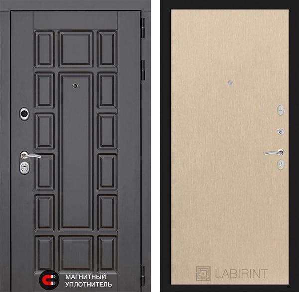 Входная металлическая дверь Лабиринт Нью-Йорк 5 (Венге светлый)