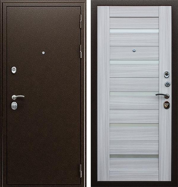 Входная металлическая дверь АСД Маэстро 7Х (Сандал белый)