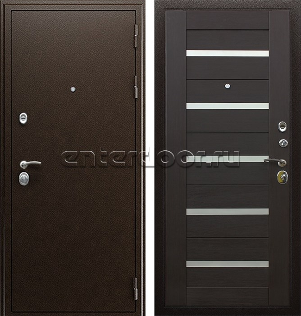 Входная металлическая дверь АСД Маэстро 7Х (Венге)
