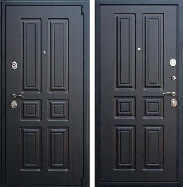 Входная металлическая дверь АСД Атлант (Венге / Венге)
