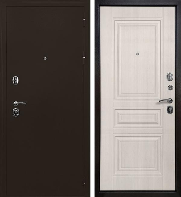 Входная металлическая дверь Ратибор Троя 3К (Лиственница беж)