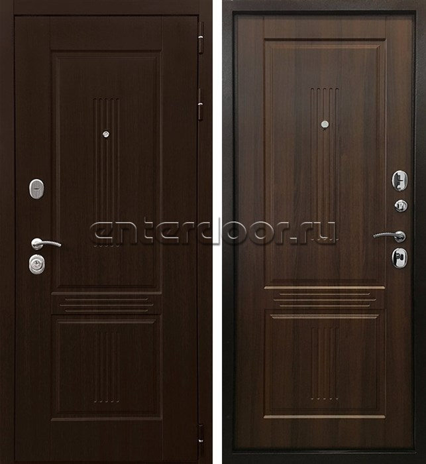 Входная металлическая дверь Ратибор Консул 3К (Венге / Орех бренди)