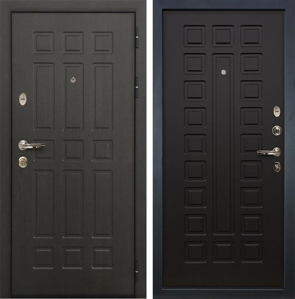 Входная металлическая дверь Лекс 8 Сенатор ФЛ-183 МДФ-12 Венге