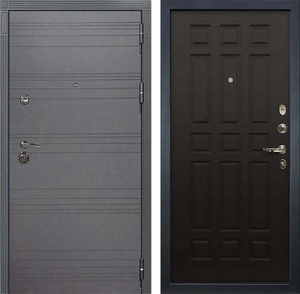 Входная дверь Лекс Сенатор 3К Софт графит (№29 Венге)
