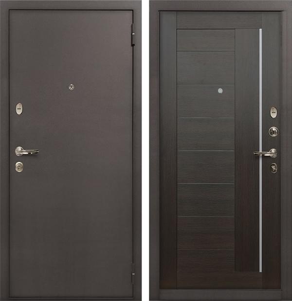 Входная стальная дверь Лекс 1А Верджиния (№39 Венге)