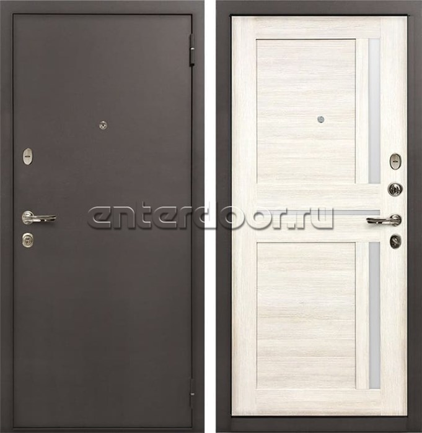Входная стальная дверь Лекс 1А Баджио (№47 Дуб беленый) - фото 35032