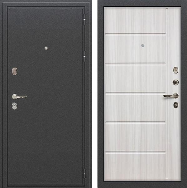 Входная металлическая дверь Лекс Колизей Сандал белый (№42)