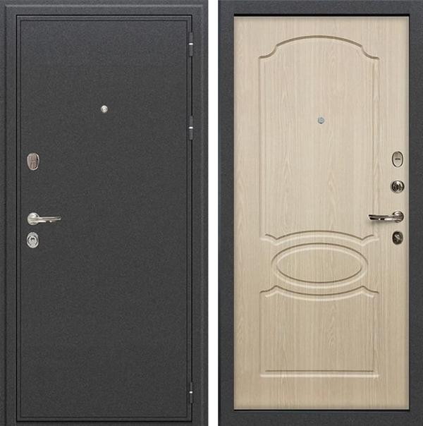 Входная металлическая дверь Лекс Колизей Дуб беленый (№14)