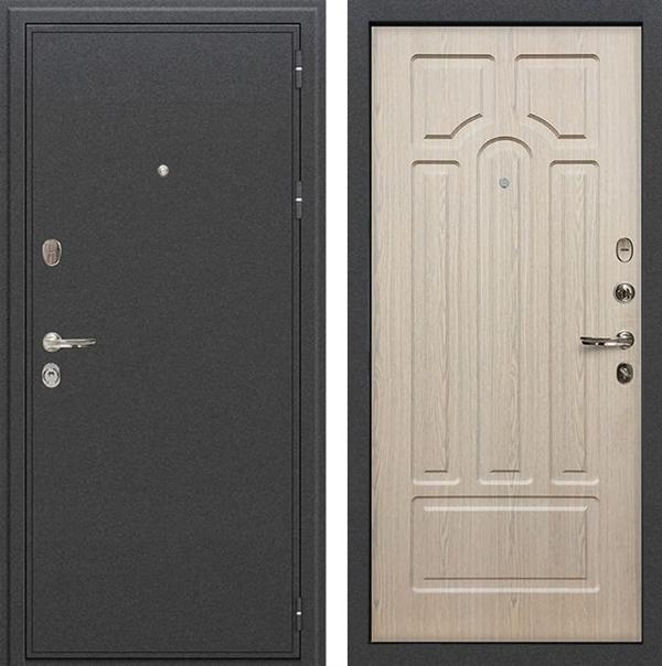 Входная металлическая дверь Лекс Колизей Дуб беленый (№25)