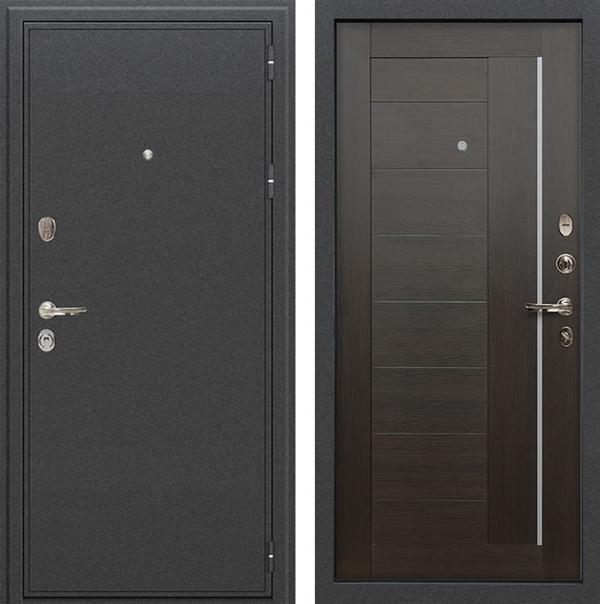 Входная металлическая дверь Лекс Колизей Верджиния Венге (№39)