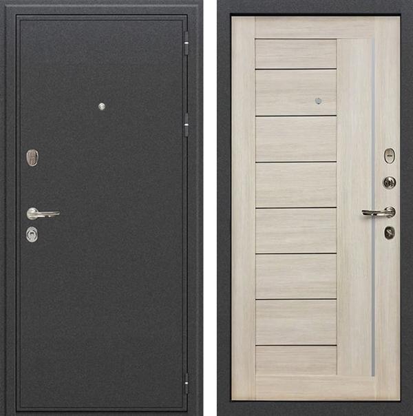 Входная металлическая дверь Лекс Колизей Верджиния Ясень кремовый (№40)