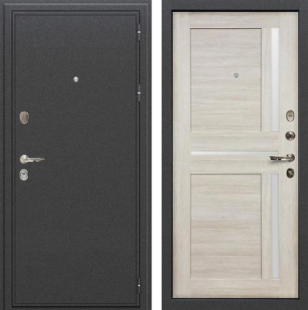 Входная металлическая дверь Лекс Колизей Баджио Ясень кремовый (№49)