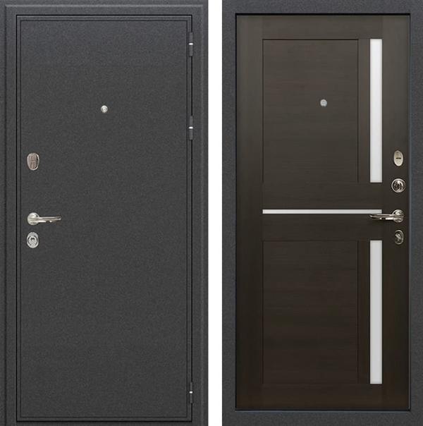 Входная металлическая дверь Лекс Колизей Баджио Венге (№50)
