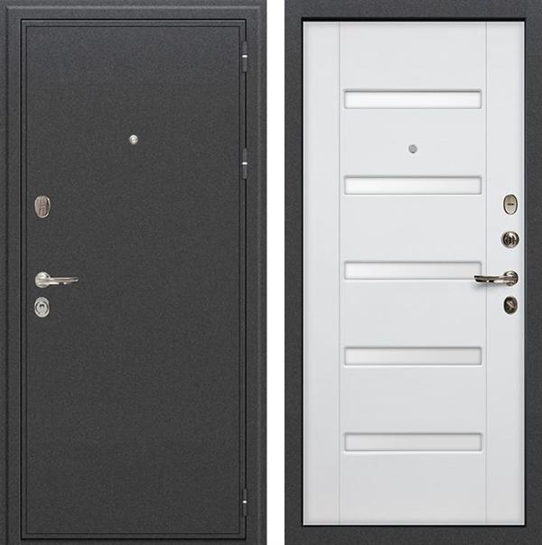 Входная металлическая дверь Лекс Колизей Ясень белый (№34)