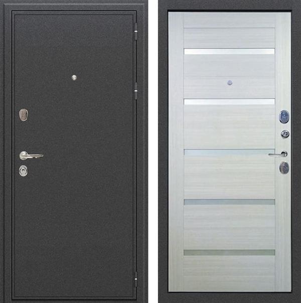 Входная дверь Лекс Колизей Клеопатра-2 Дуб беленый (панель №58)
