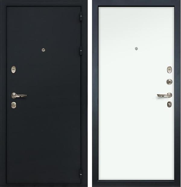Входная металлическая дверь Лекс Рим Белый (панель 59)