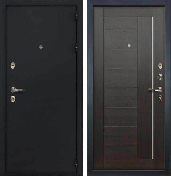 Входная металлическая дверь Лекс Рим Верджиния Венге (панель №39)