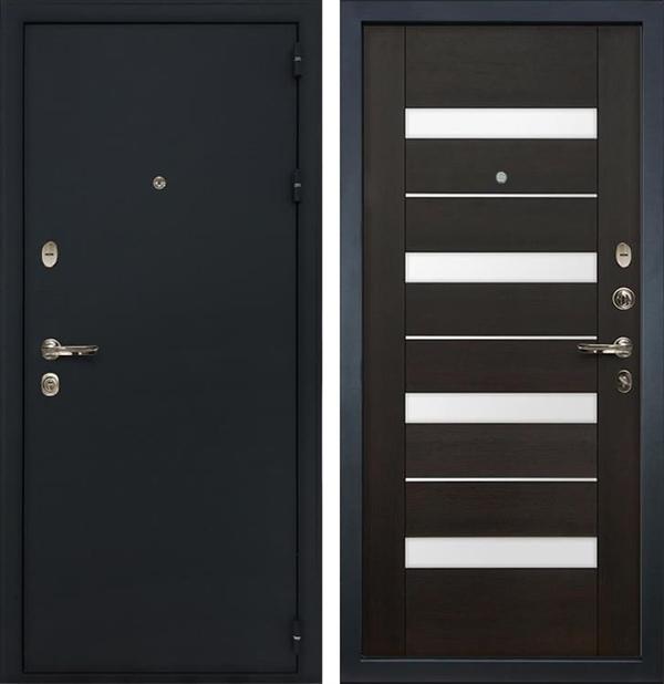 Входная металлическая дверь Лекс Рим Сицилио Венге (панель №51)