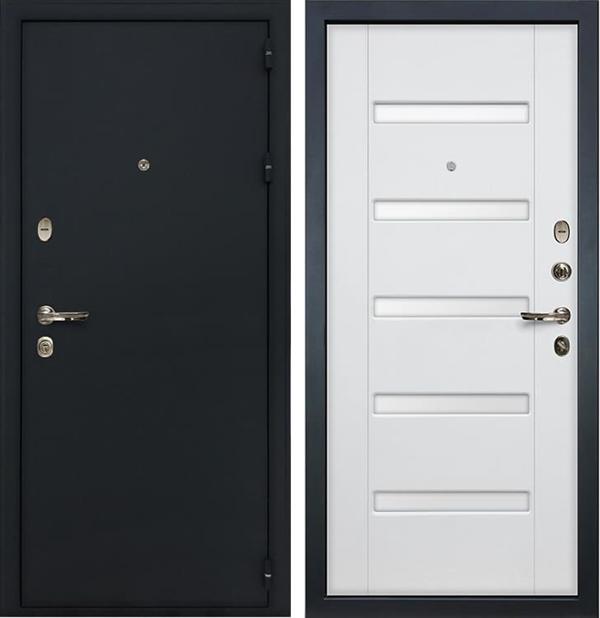 Входная металлическая дверь Лекс 2 Рим Ясень белый (панель №34)