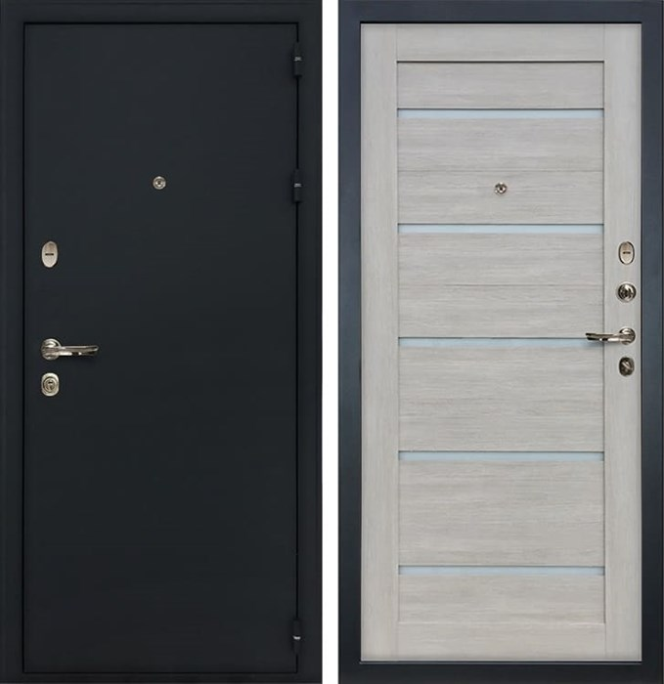 Входная металлическая дверь Лекс 2 Рим Клеопатра-2 Ясень кремовый (панель №66)