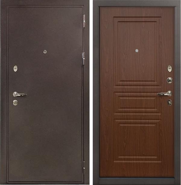 Входная металлическая дверь Лекс 5А Цезарь Береза мореная (панель №19)