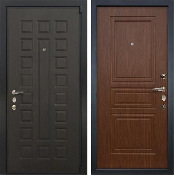 Входная металлическая дверь Лекс 4А Неаполь Mottura Береза мореная (панель №19)