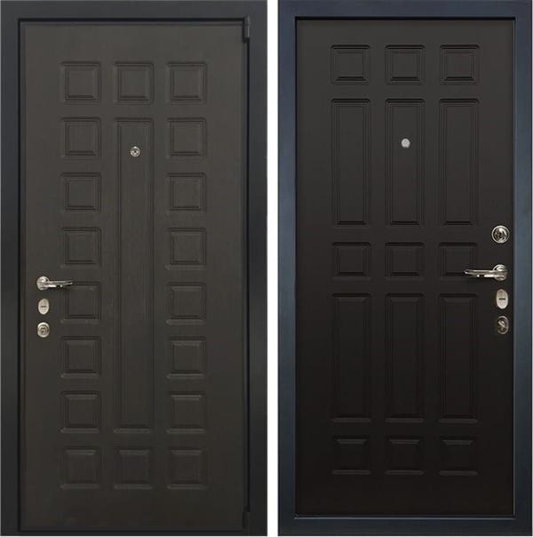 Входная металлическая дверь Лекс 4А Неаполь Mottura Венге (панель №29)