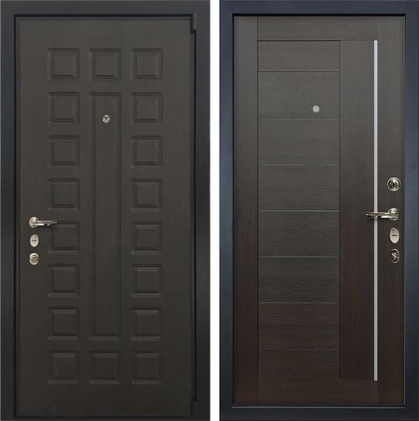 Входная дверь Лекс 4А Неаполь Mottura Верджиния Венге (панель №39)