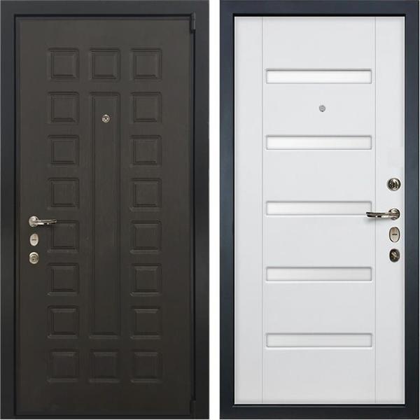 Входная металлическая дверь Лекс 4А Неаполь Mottura Ясень белый (панель №34)