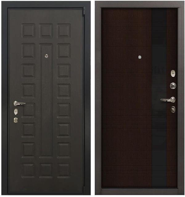 Входная металлическая дверь Лекс 4А Неаполь Mottura Новита Венге (панель №53)