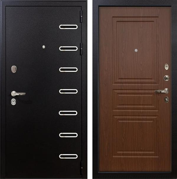 Входная металлическая дверь Лекс Витязь Береза мореная (панель №19)