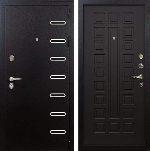 Входная металлическая дверь Лекс Витязь Венге (панель №21)