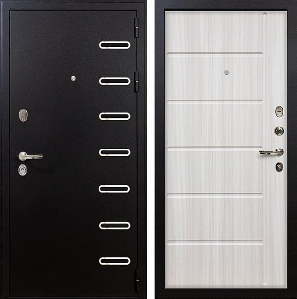 Входная металлическая дверь Лекс Витязь Сандал белый (панель №42)