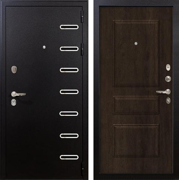 Входная металлическая дверь Лекс Витязь Винорит Алмон 28 (панель №60)