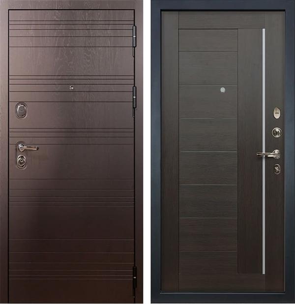 Входная металлическая дверь Лекс Легион Верджиния Венге (панель №39)